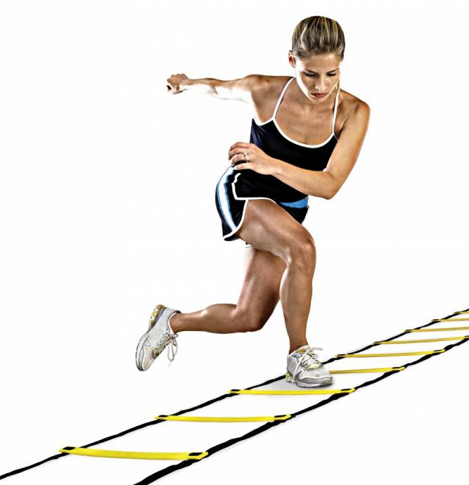 Ljestva AGILITY 4 m za trening agilnosti u nogometu, atletiki