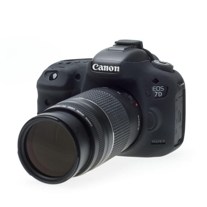 Discovered Easy Cover za Canon EOS 7D Mark II crna + 2x LCD folija