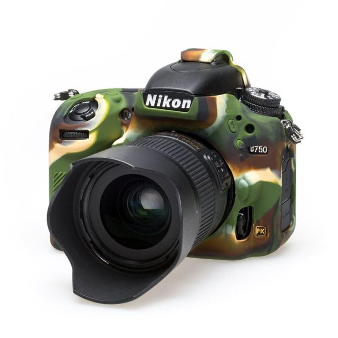 Discovered Easy Cover za Nikon D750 camouflage + 2x LCD folija