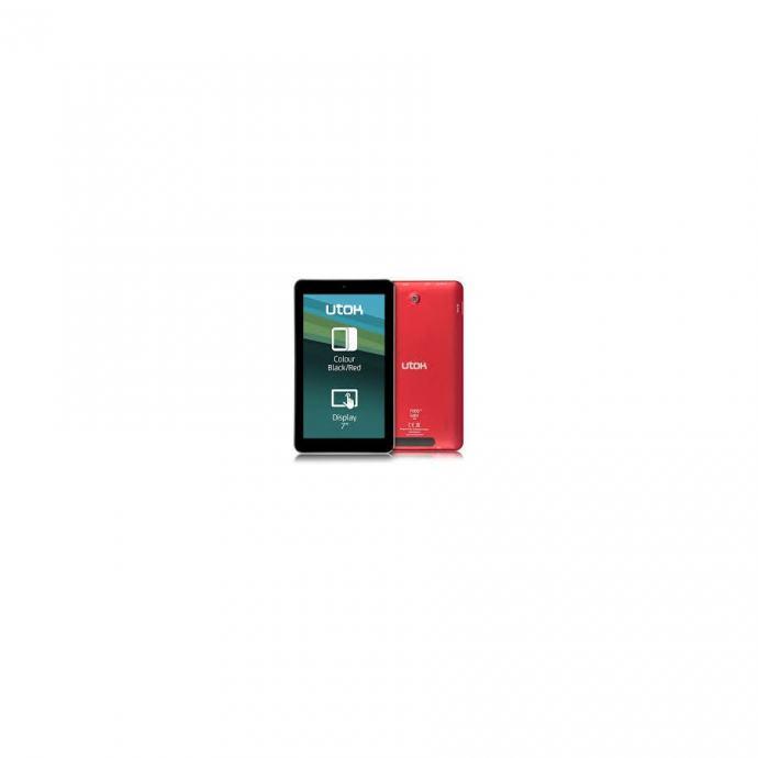 UTOK tablet 700 Q Satin crno/crveni