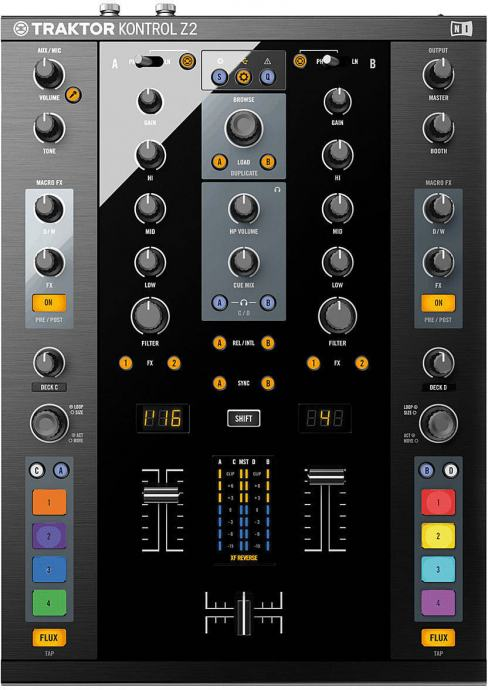 DJ kontroler NATIVE INSTRUMENTS TRAKTOR KONTROL Z2