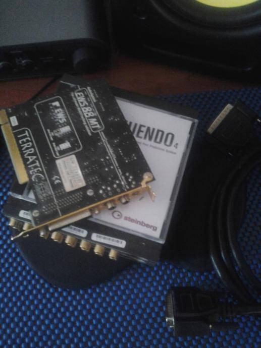 Zvučna kartica + Nuendo *AKCIJA*