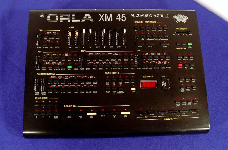 modul aranžer orla xm45 za midi harmoniku ili klavijaturu