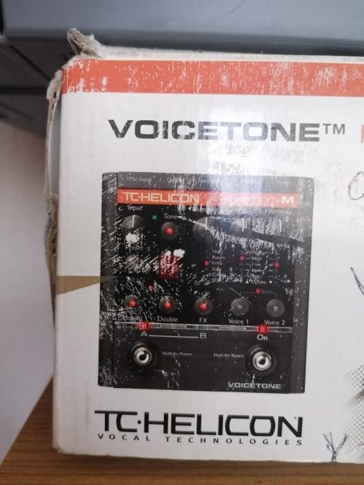 Vocalist tc helicon harmony m