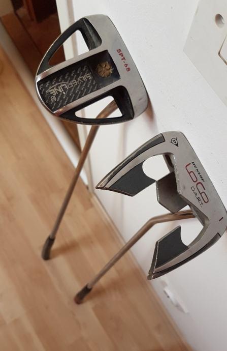 Palice za golf - putteri (Silverline i Dunlop)