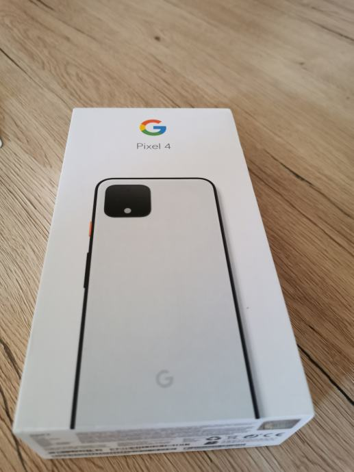 Google Pixel 4 Clearly White NOVI