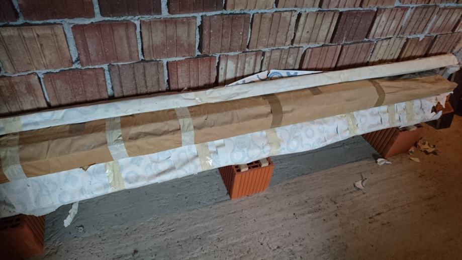nova drvena harmonika vrata 260 x 145