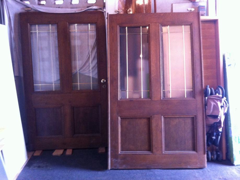 Hrastova vrata sobna, ulazna ili klizna 2kom 2.5m Akcija Prijevoz