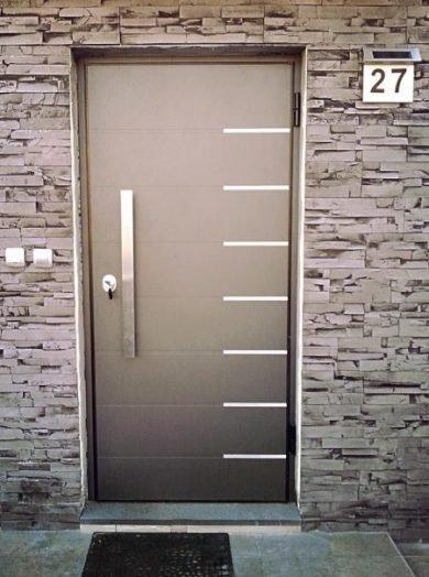 Protuprovalna vrata za kuće s ALU vanjskim panelom - izrada po mjeri