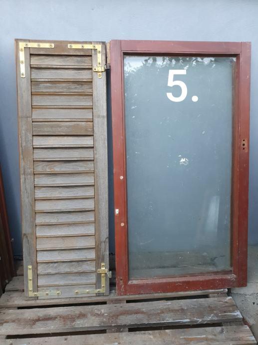 Prozori (+šaluzine) raznih veličina