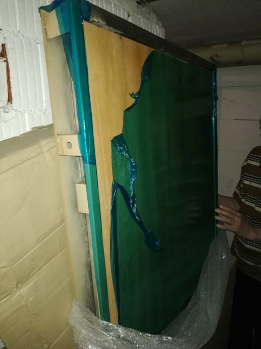 Ulazna vrata s okvirom Novo zapikaran
