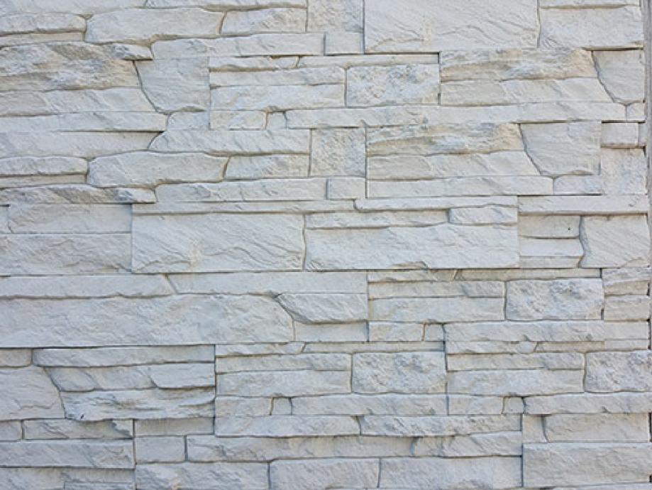 Dekorativni kamen model Tip Top bijeli