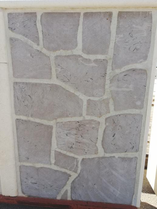 Prodajem buretani kamen cetkan antico sive boje