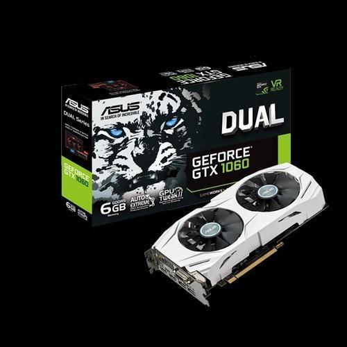 Asus Gforce GTX1060 dual 6GB GPU Grafička kartica