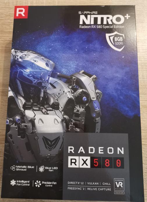 ATI Radeon Sapphire RX580+ 8gb Special Edition GPU | Novo | Račun R1