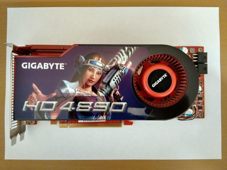 Gigabyte GV-R489-1GH-B ATI Graphics Drivers for Windows 7