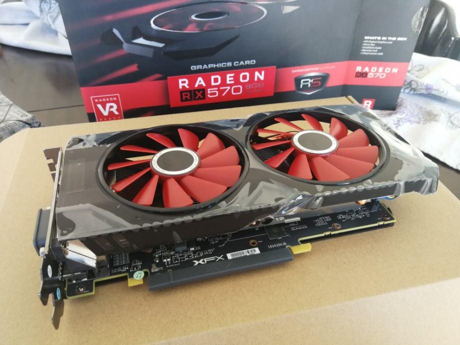 XFX Radeon RX 570 8GB - NOVO