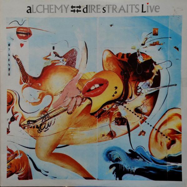 Dire Straits Alchemy Dire Straits Live LP Ploča 2 LP MINT