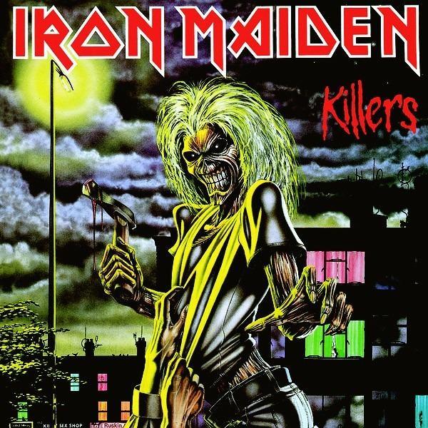 Iron Maiden - Killers (Japan original 1st press)