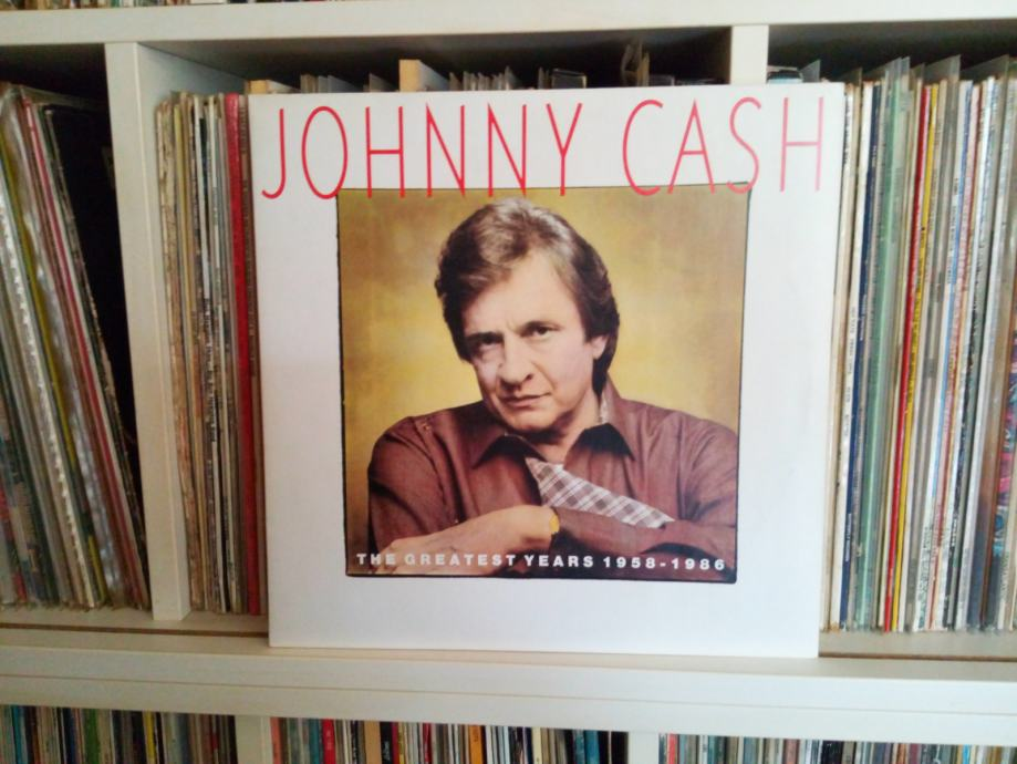 JOHNNY  CASH   The Greatest Years  1958 - 1986   2 LP