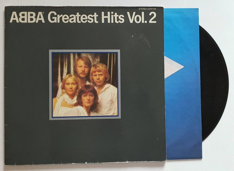 LP ABBA- GREATEST HITS VOL.2 (GERMANY)