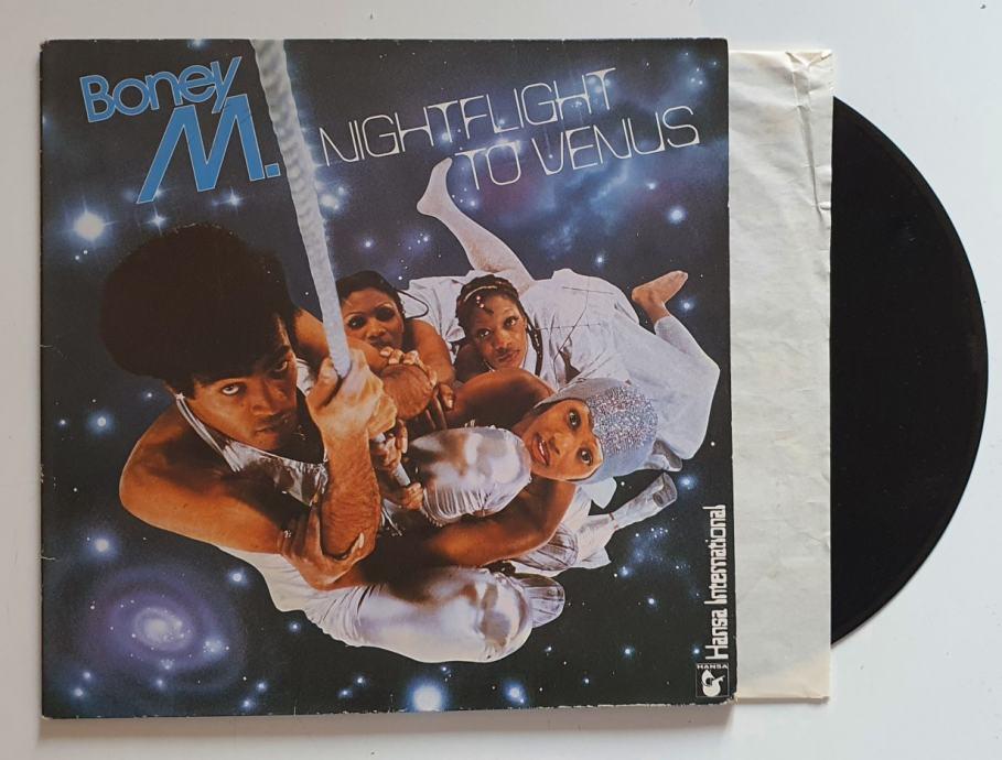 LP BONEY M.- NIGHTFLIGHT TO VENUS (GERMANY)- prodano