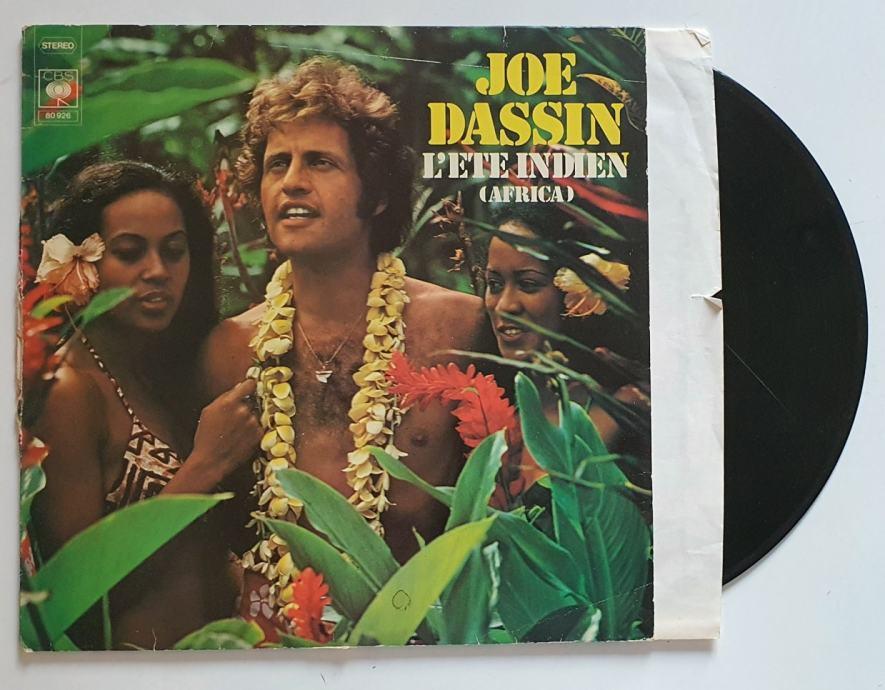 LP JOE DASSIN- L'ETE INDIEN, AFRICA (GERMANY)