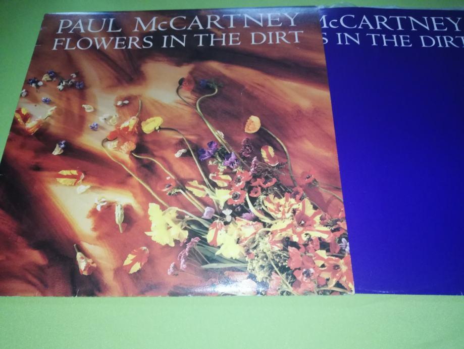 LP-Paul McCartney – Flowers In The Dirt