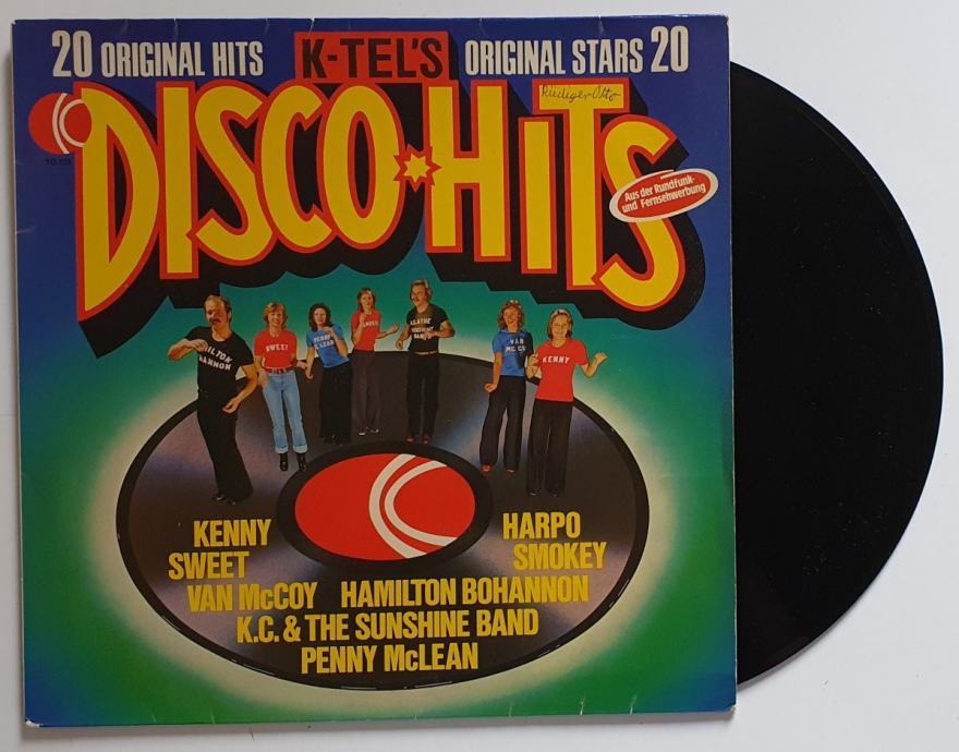 LP VA- 20 ORIGINAL DISCO HITS (GERMANY)