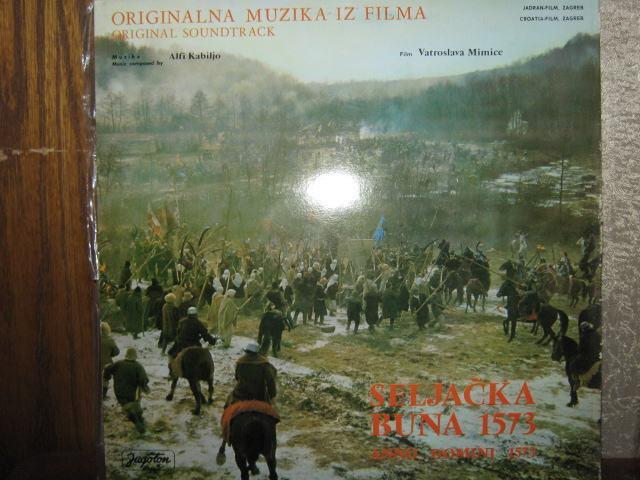 SELJAČKA BUNA 1573 LONG PLAY GRAMOFONSKA PLOČA