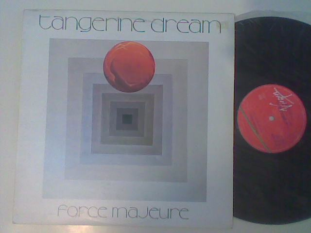 TANGERINE DREAM FORCE MAJEURE LP