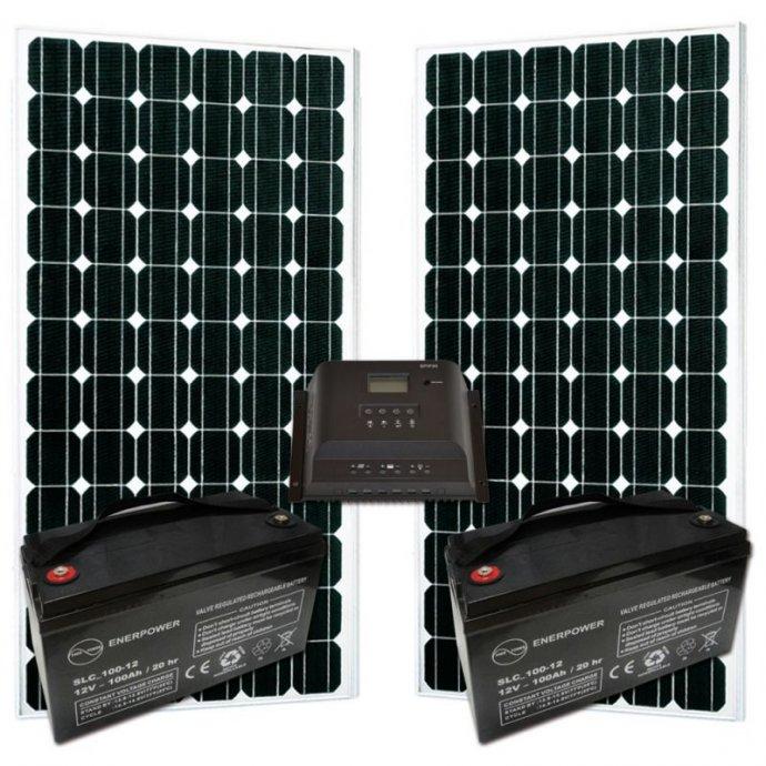 Solarni sustav za rasvjetu,TV,hladnjak i ostale potrosace