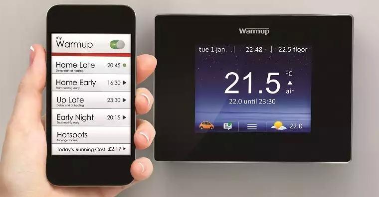 WARMUP 4ie SMART WiFi TERMOSTAT