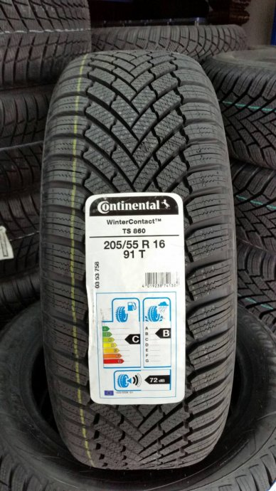 Gume Continental WinterContact TS860 205/55/16 **624,79kn**