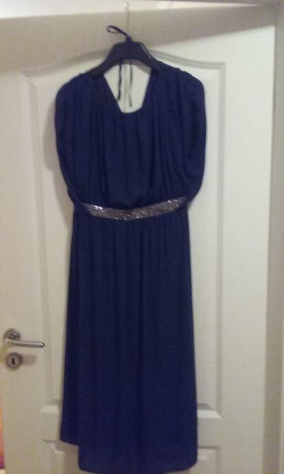 Haljina Svečana Za Trudnice Tamno Plava