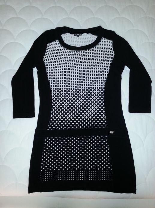 MARX crno - bijela haljina