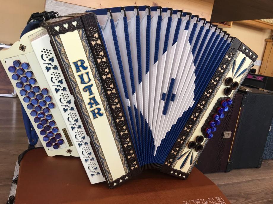 NOVA- RUTAR Diatonska harmonika