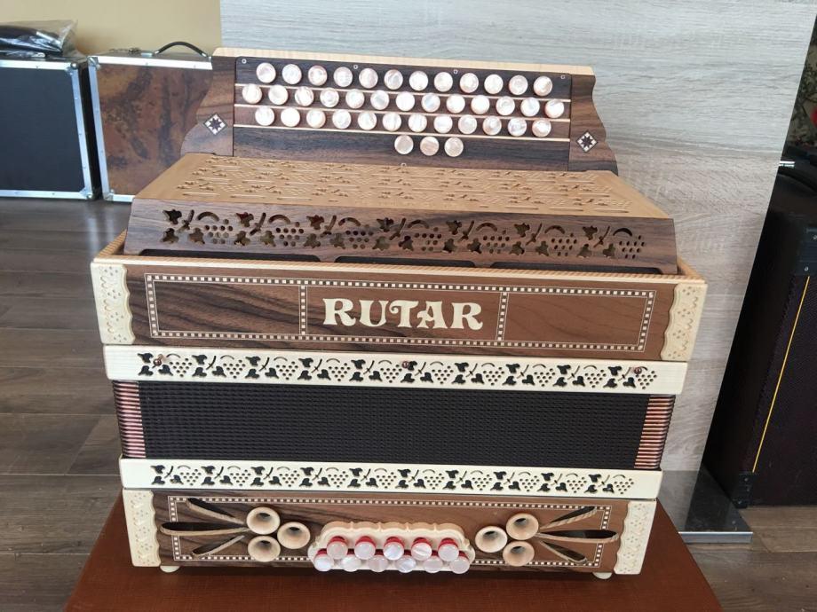 RUTAR Diatonska harmonika-NOVO