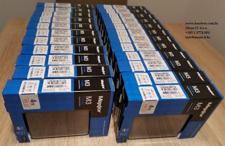 MAXTOR M3 4TB Usb 3.0 Slimline 2.5'' eksterni hard disk   R1 Rč.
