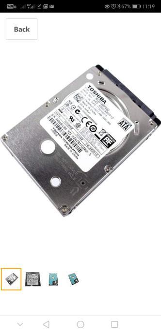 TOSHIBA HDD 320GB