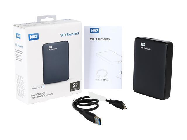 WD HDD 2.5'' 2TB USB 3.0 eksterni hard disk | Novo | Orig. | Račun R1