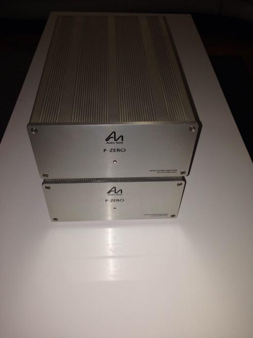 Audio Note P-Zero izlazna pojačala - monoblokovi