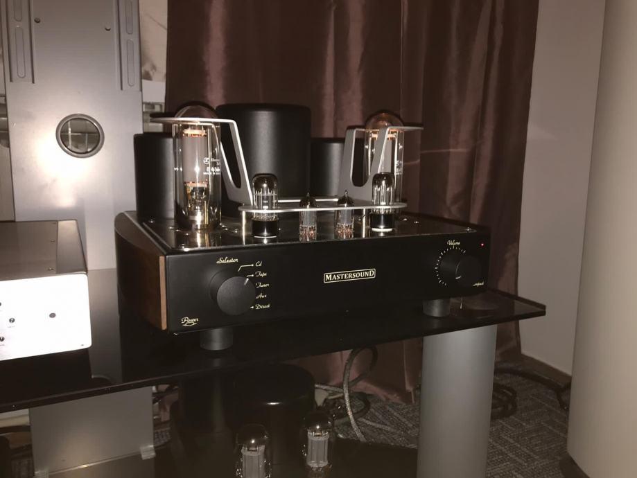 Mastersound Compact 845 Cijevno integrirano pojačalo Made in Italy
