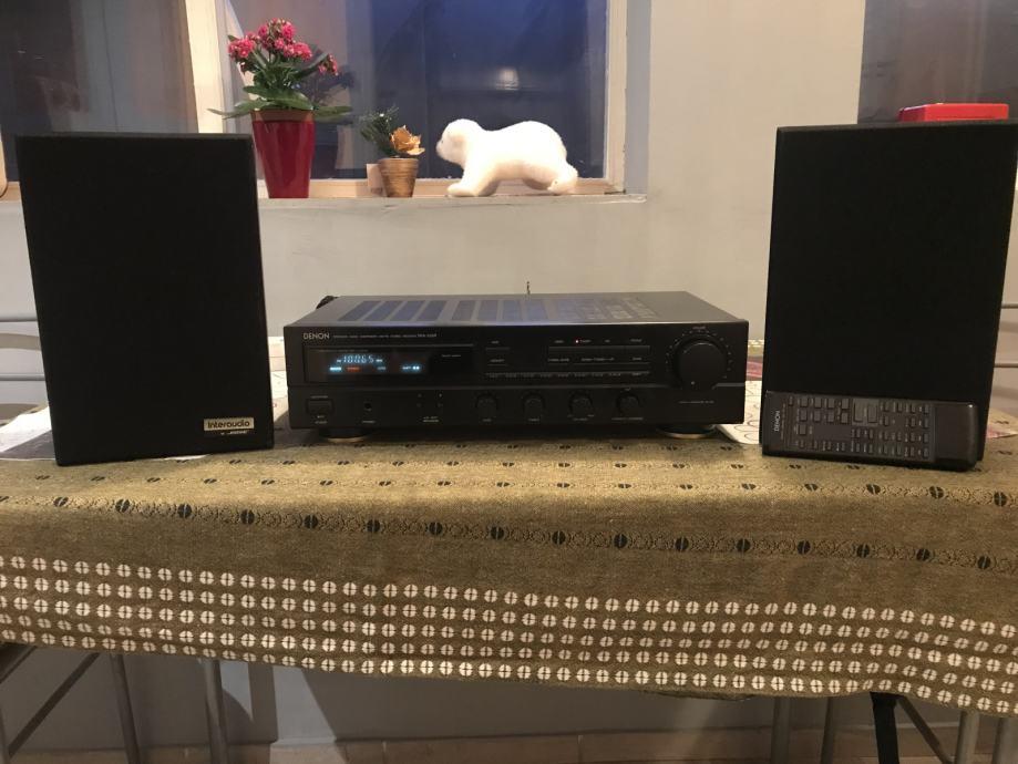 Denon DRA-335R+BOSE-1000XL zvučne kutije SA DALJINSKIM