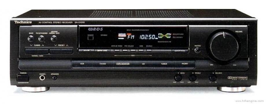 Technics SA-EX300 receiver
