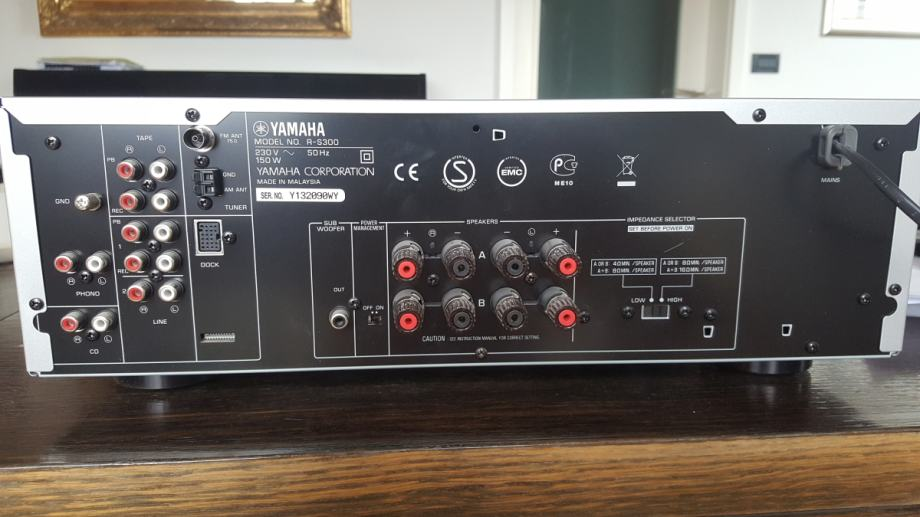 yamaha r s300 stereo poja alo. Black Bedroom Furniture Sets. Home Design Ideas