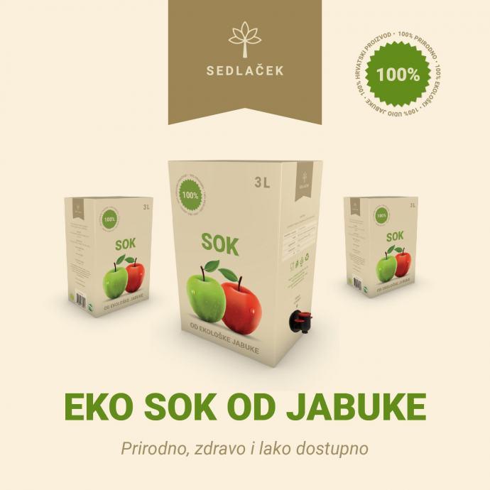 EKO sok od jabuke iz EKO uzgoja