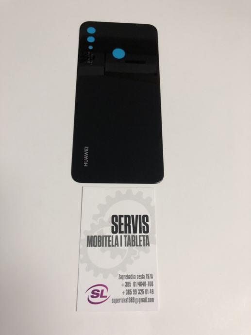 huawei p smart plus poklopac baterije zadnja maska (crna boja)