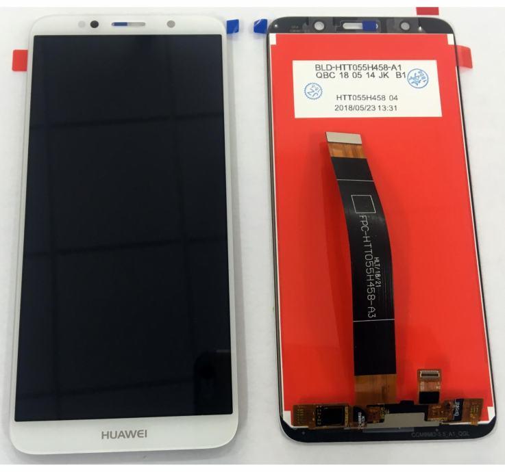 huawei y5 2018 lcd ekran display touch screen NOVO (bijeli)