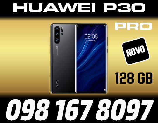 HUAWEI P30 PRO 128GB,BLACK,ZAPAKIRANO,DOSTAVA ZG,R1 RACUN,HP EXPRES HR